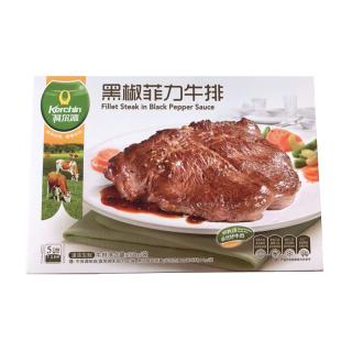 科尔沁黑椒菲力牛排 150g