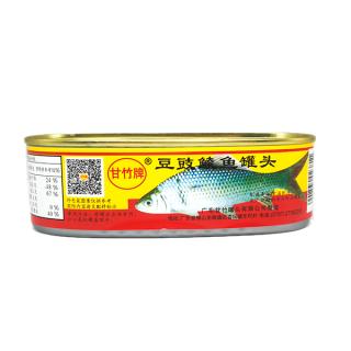 甘竹豆豉鲮鱼罐头